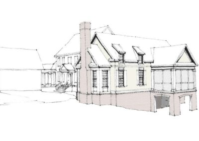 Sketch of Maryland Home Addition